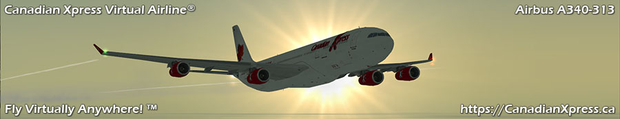 Canadian Xpress® Airbus A340-313