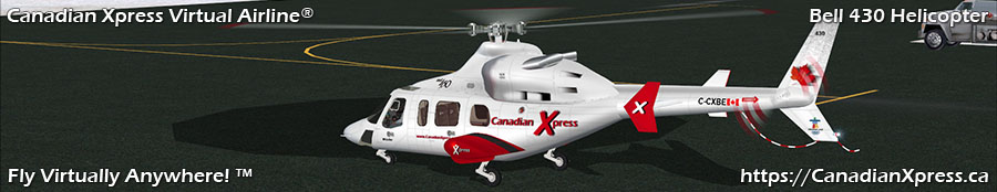 Canadian Xpress® Bell 430 Helicopter