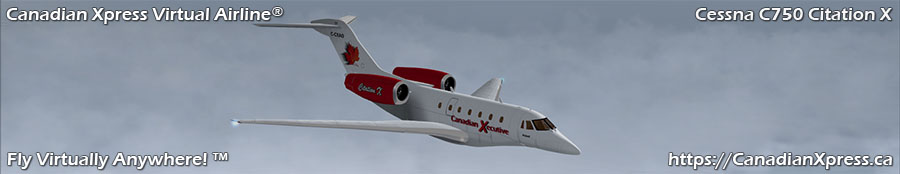 Canadian Xpress® Cessna C750 Citation X