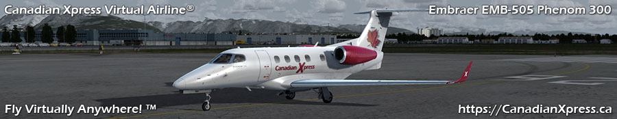 Canadian Xpress® Embraer EMB-505 Phenom 300