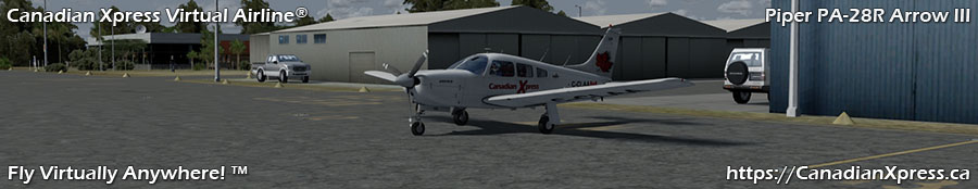 Canadian Xpress® Piper PA-28R Arrow III